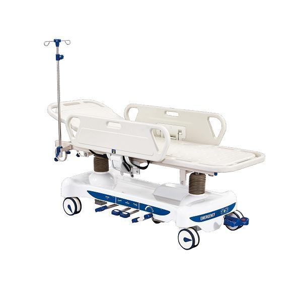 2019 novo produto <span class=keywords><strong>maca</strong></span> de transporte de emergência hidráulica luxuosa para hospital