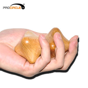 Deep Tissue Hand Relaxing Wood Massage Tool/Massgae Ball