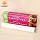 High Temperature Parchment paper Sheets Greaseproof Paper Roll Baking Parchment Paper