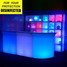 party used nightclub led bar counter led portable bar