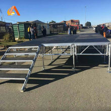 Adjustable Aluminum Frame Aluminio Stage Platform for Wedding Events