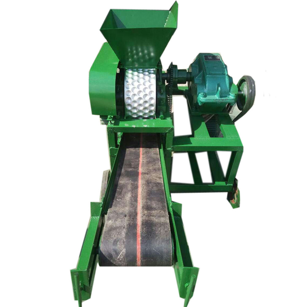 BBQ Charcoal briquette making machine/coal powder ball press machine
