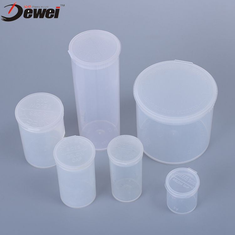 Wholesale Plastic 6 13 90 Dram Pop Top Vials Plastic Pop Top Lids Pots Squeeze Jars Container Vial Bottles