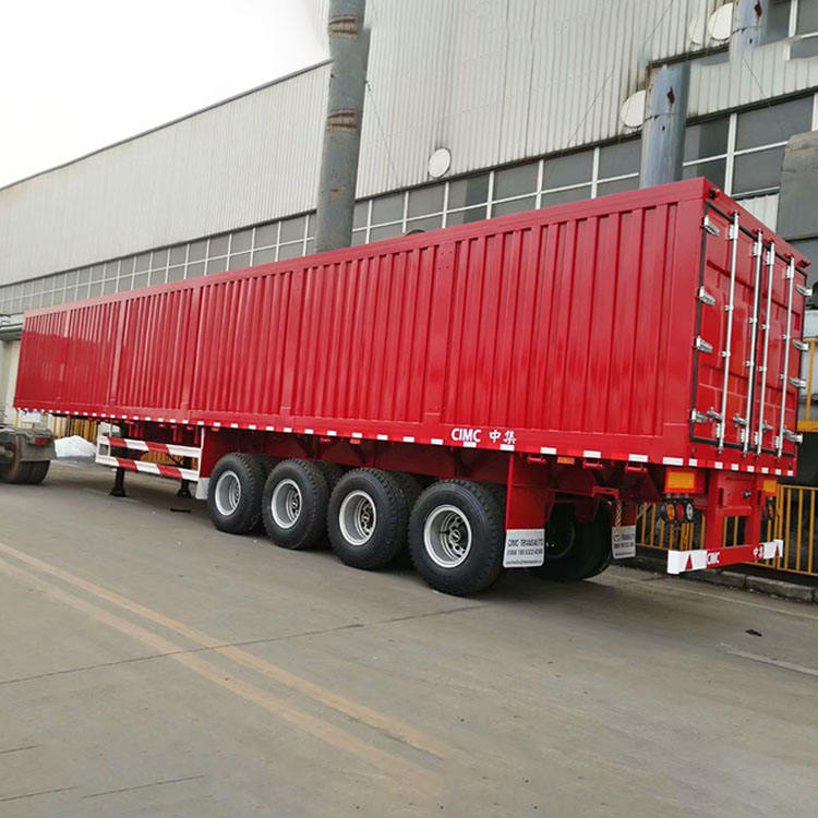 China New Popular 40Ft Dry Van Trailer For Sale Semi Trailer