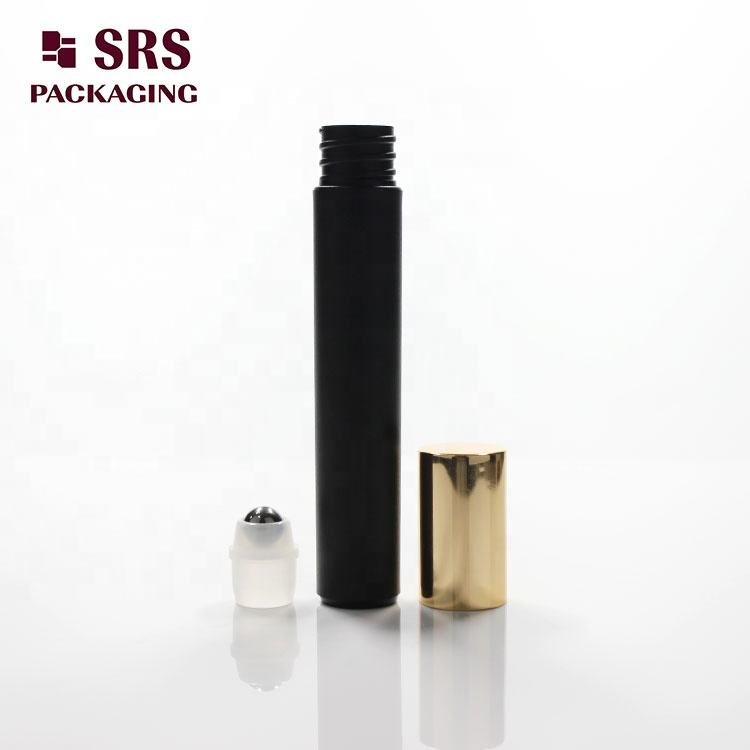 8ml roller bottle custom cosmetic essential oil bottle roller with silkprinting