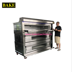 steam stone deck oven small bakery machine single deck oven with cheapest price