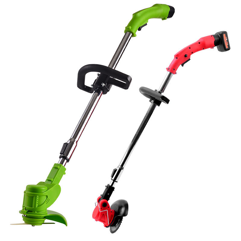 12V 26V Electric telescopic Cordless Grass Line Trimmer, Lithium brush cutter