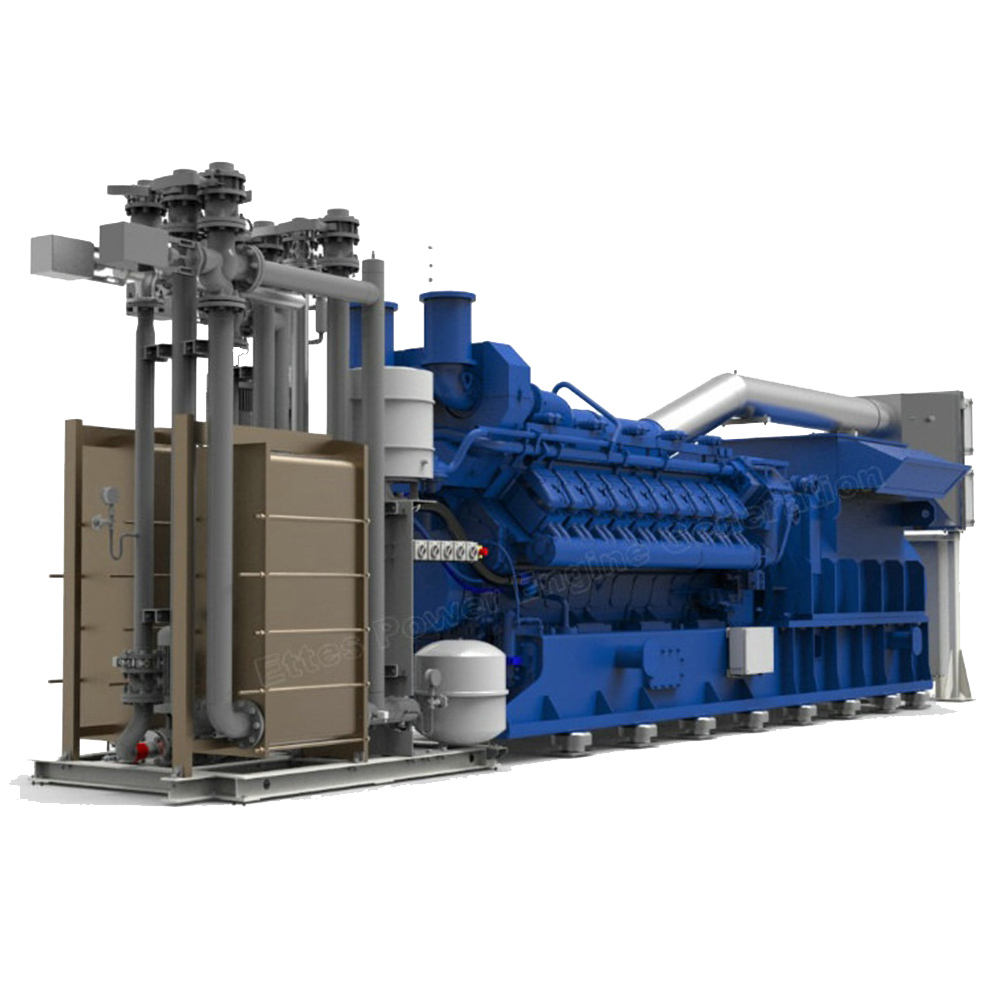 Electric generator 800kw coalbed gas power plant with wholesale price