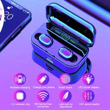 TWS G6S IPX7 waterproof 3500mAh mini wireless Bluetooth V5.0 sports headset microphone for IOS / Android Samsung millet