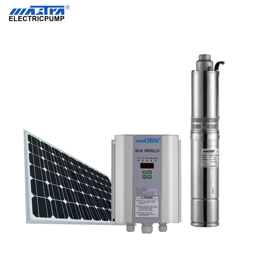 4 inch 48volt 400 watt solar powered submersible deep well electric water pumps brushless permanent magnet motor