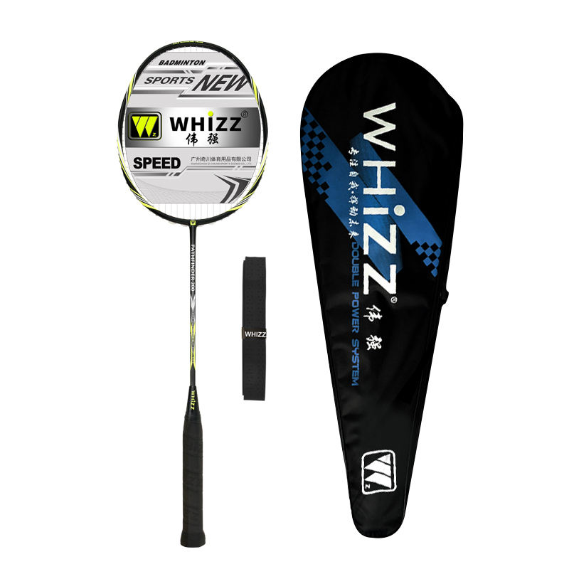 WHIZZ Model PATHFINDER200 G4 wood handle full carbon fiber badminton racket for amateur