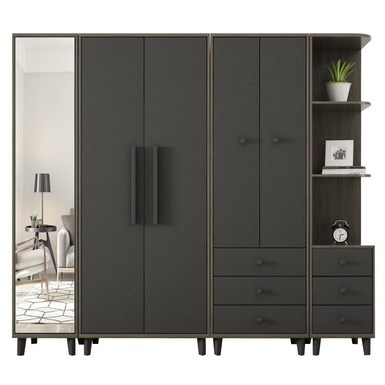 Wardrobe In 3 Colour Designs Cabinet Bedroom Laminate Wardrobe Closets
