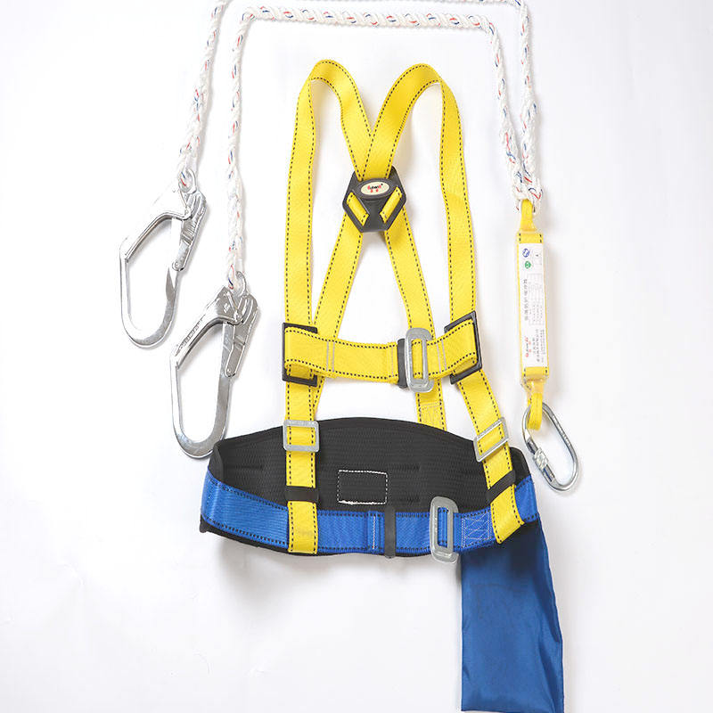 Rock Mountain adjustable outdoor climbing safety harness industrial construction safety belts hot sales construction belt