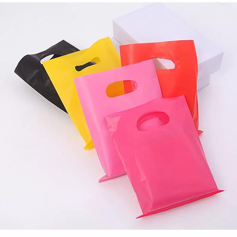 Cheap Retail High Quality Custom Printed Reusable Ldpe Plastic Shopping Bag With Handle