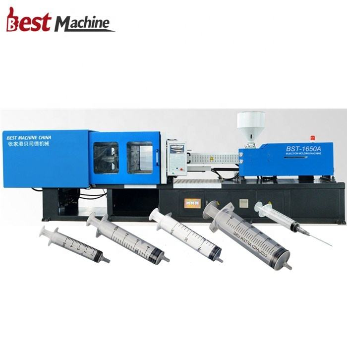 Automatic PP Plastic Medical Disposable Luer Lock Luer Slip Syringe Making Manufacturing Machine / Injection Molding Machine