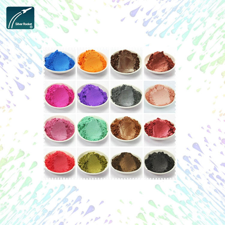 Pearlescent pigment mica color powder pearl pearl pigment for cosmetics