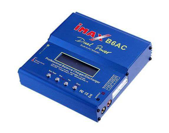 HOT IMAX B6AC 80W 6A RC Toy Lipo Battery Balance Charger Discharger Dual Power Lipo Nimh Nicd Charger With Digital LCD Screen