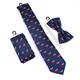 Whole Sale Silk Tie Jacquard Woven Ties And Pocket Square Set