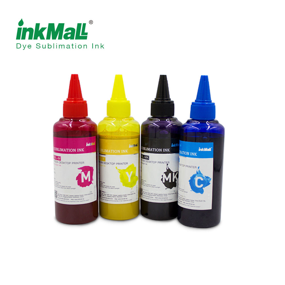 100ml C M Y K LK LLK desktop dye sublimation ink for all desktop printer tintas de sublimation