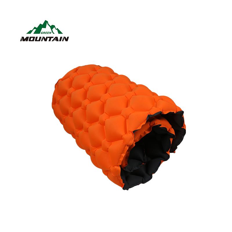 открытом воздухе надувные подушки двойной цвет коврики ТПУ материал Air кровать коврик с завышенной Сумка для кемпинга ТПУ