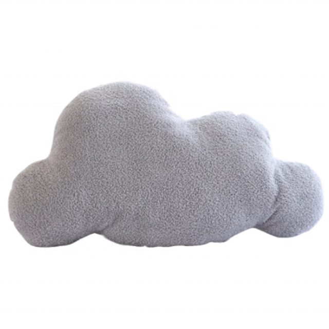 Stuffed Plush Cloud Shaped Throw Pillow Toys Nordic Style Bedding Cushion Decoration PP Cotton Soft Home Cute Portable Sofa