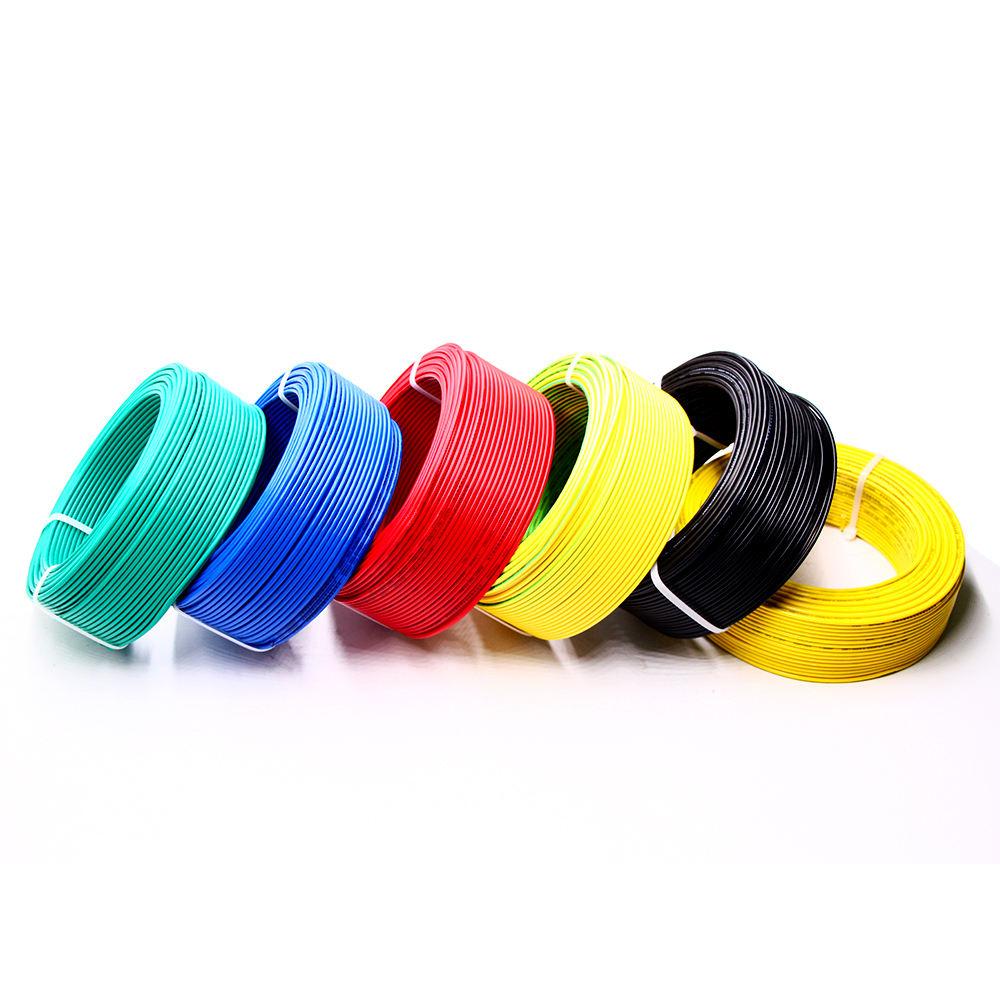 Offre Spéciale fils électriques 1.5mm 2.5mm 4mm 6mm à noyau unique et câble pvc fil électrique fil de cuivre