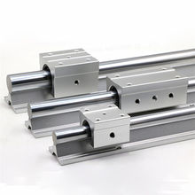 Linear motion guide rail round linear guideway SBR12