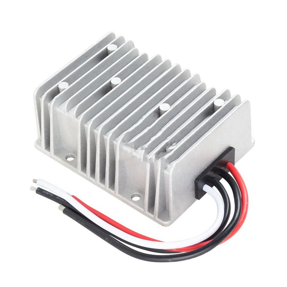 300W Automatic Boost-Buck DC DC Converter 8-36V to 12V 25A Voltage Regulator Stabilizer for Car Boat Solar System