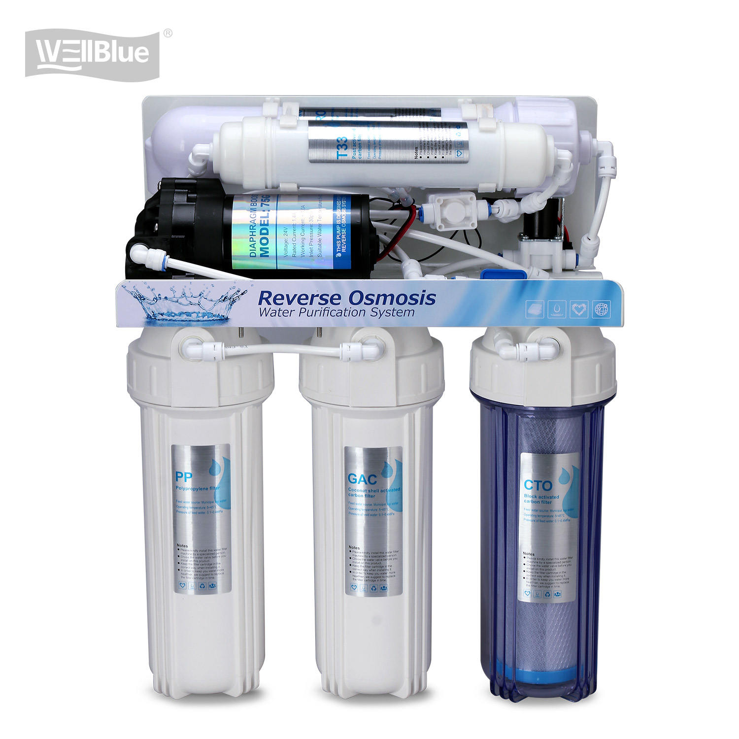 USA reverse osmosis water system ro filter For Home Use