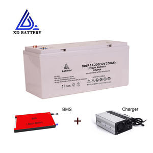 New Design 12V 200AH Maintenance Free Lifepo4 12 V Lithium Batteries 200AH