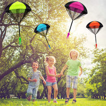 Soldier Hand Throwing Parachute Toy For Kids Outdoor Indoor Play Funny Game Educational Fly Toy Child Parachute Man Game