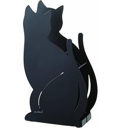 Cute home decor cat shape indoor iron umbrella stand rack