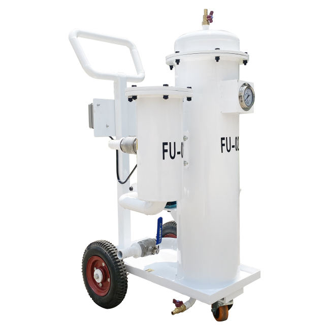 mini oil filter waste insulating oil purifier equipment used transformer oil purification machine