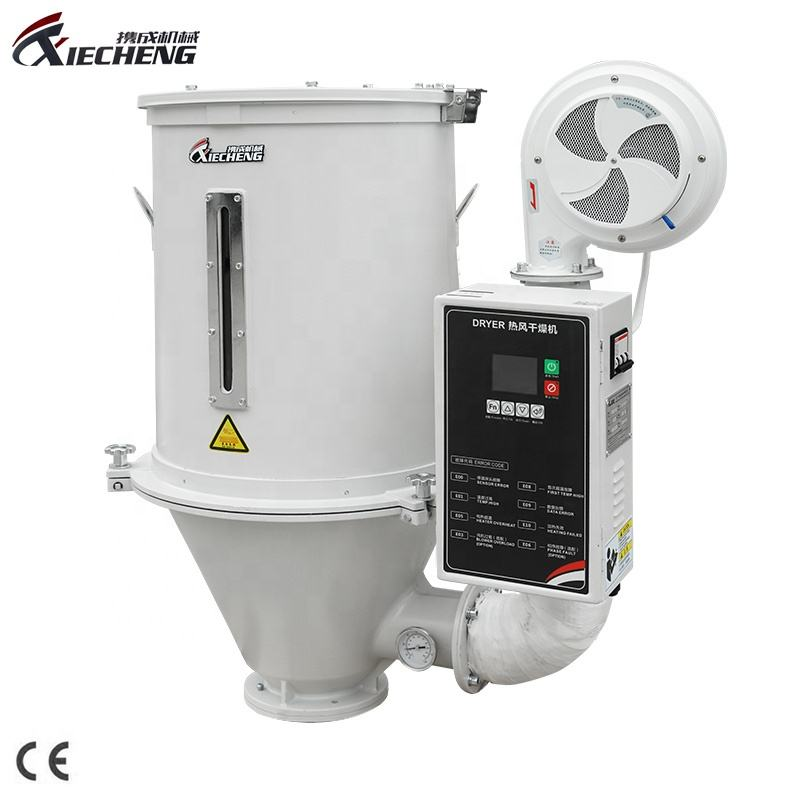 Xiecheng CE Standard 50KG Hot Air Plastic Granules Dryer Machine Hopper Dryer
