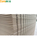 Consmos tongue and groove mdf wall panel 12mm 15mm 18mm 25mm slotted mdf board / slat wall panel/ slot board