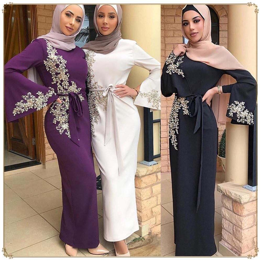 Abaya/Kimono/Kaftan We Design Women New Model Dubai Abaya Kimono Malaysia Kaftan Collection for Muslims