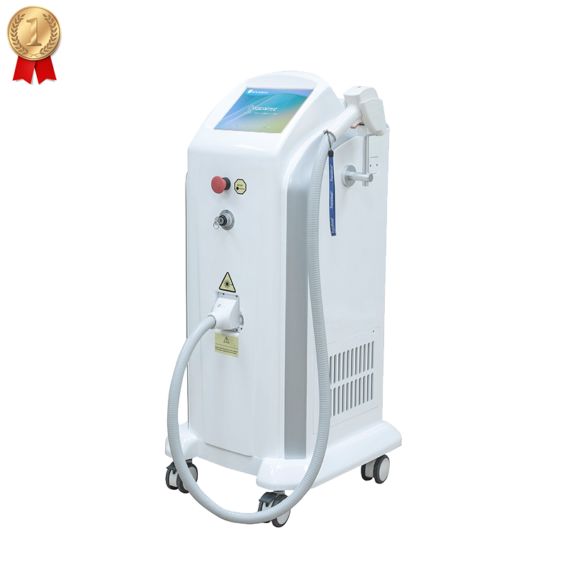 CE TGA laser diode permanently fiber coupled diode laser machine laser hair removal alexandrite china