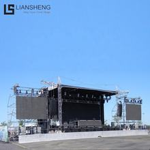 Hot Sale Outdoor Concert Stage Podium With Truss Lifting System