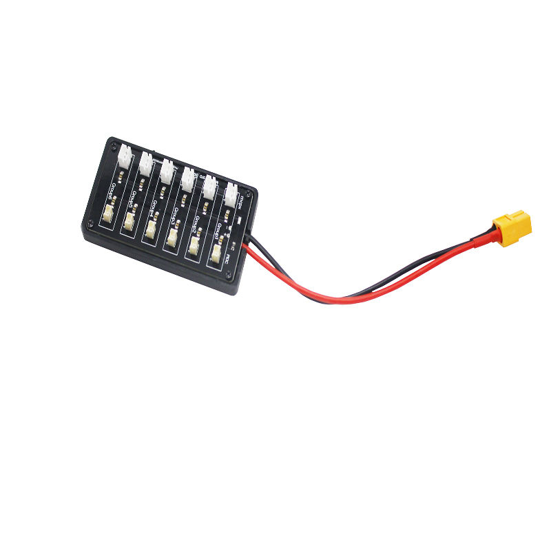 RC helicopter wuadcopter multiple ultra micro lipo 3.7v parallel JST-PH charging board