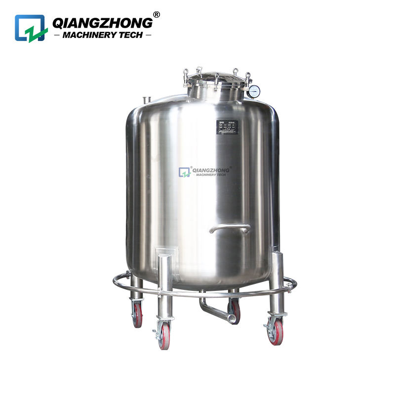 Sanitary liquid buffer tank olive oil raw milk stainless steel storage tank