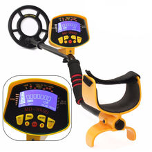 MD3010II Metal Detector With LCD Screen High Sensitivity Underground Gold Treasure Hunter