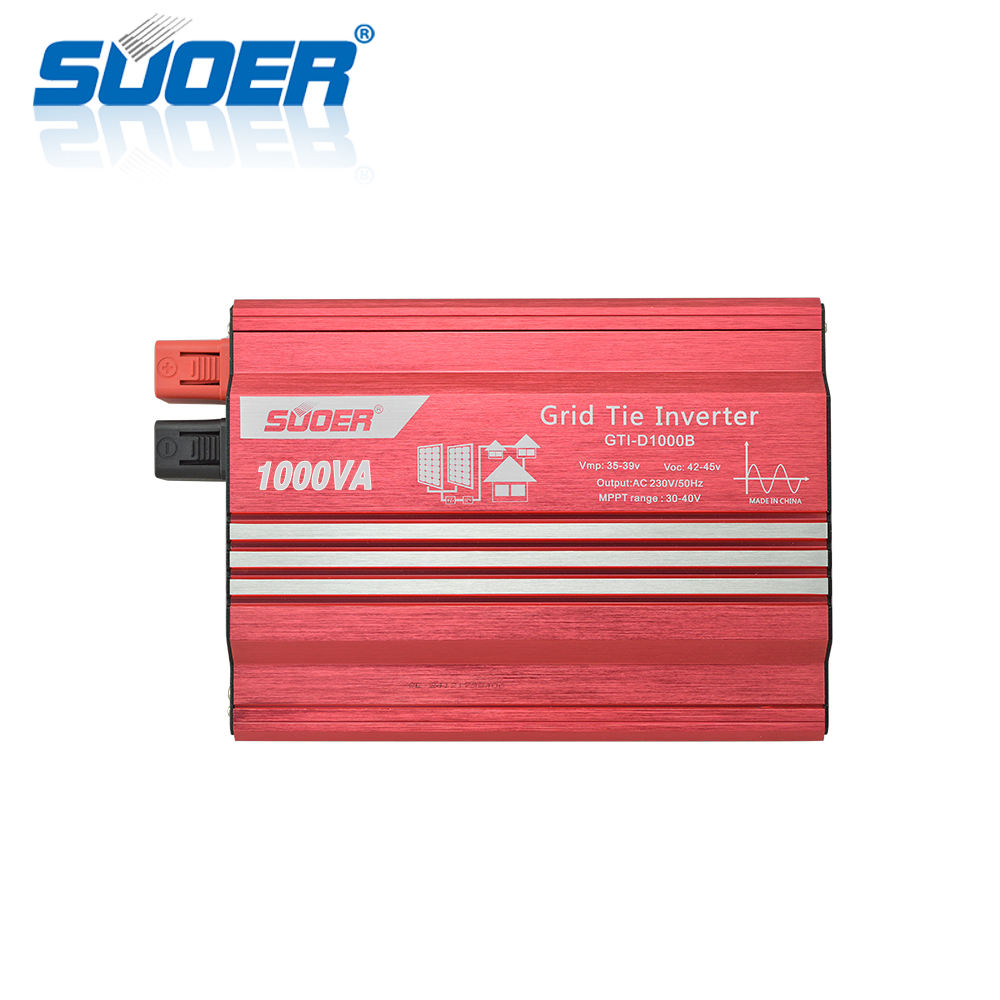Suoer 1KW 1000 Watt Pada Grid Tie Solar Power Inverter