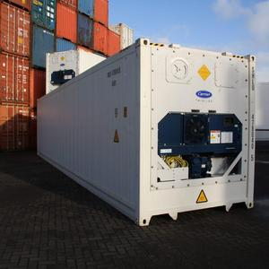 Used Carrier Reefer Shipping Containers Export to Asia, Europe