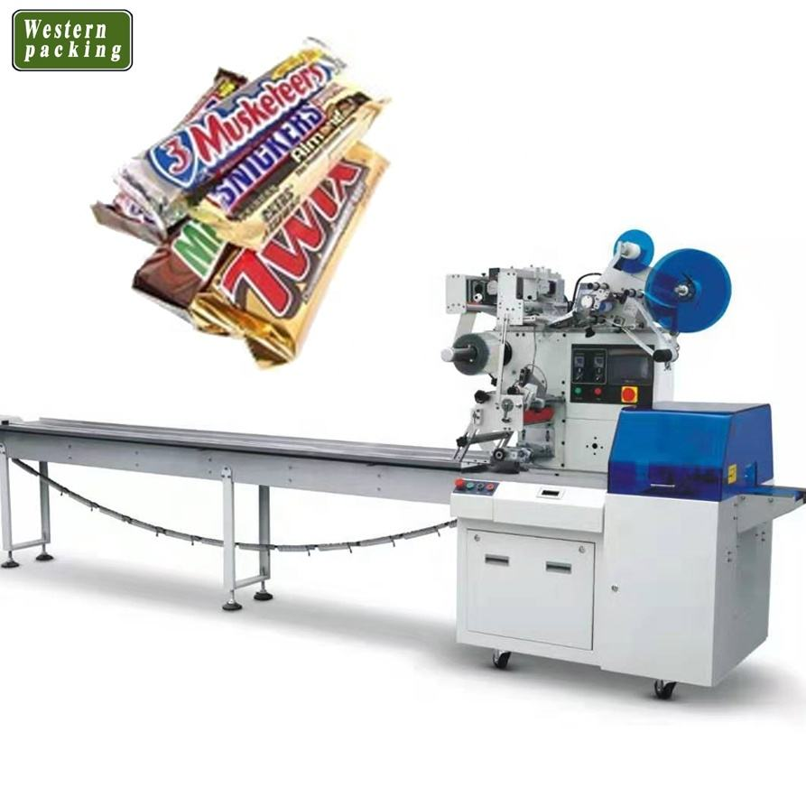 Wrapper Flow Pack Machine Horizontal Packaging Machine Automatic Packing Machine