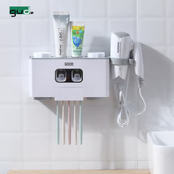 Wall-Mounted Toothpaste Squeezer