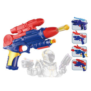 Made in China plastic shooting game play set eva safety foam soft bullet gun toys for kids