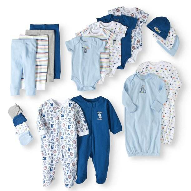 Baby Boys' Clothing Sets spring baby gift set soft cotton kids clothing