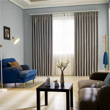 Innermor Luxury Drapes Blackout Curtains For Living room rideaux Embossed Cloth Silk Feeling Window Curtains for Bedroom