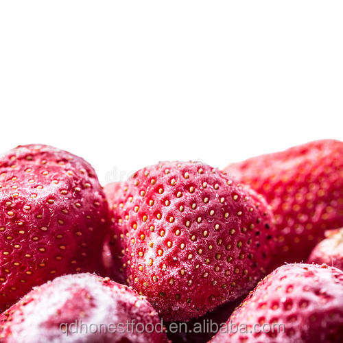 New crop low price Chinese red IQF frozen strawberry with high quality sweet charles OR AM13