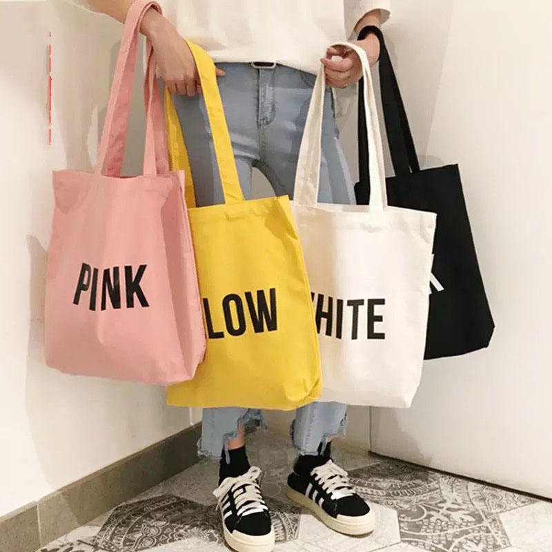 Eco Bag Custom Recycle plain organic cotton canvas totebag totes bag reusable shopping tote bags with custom printed logo